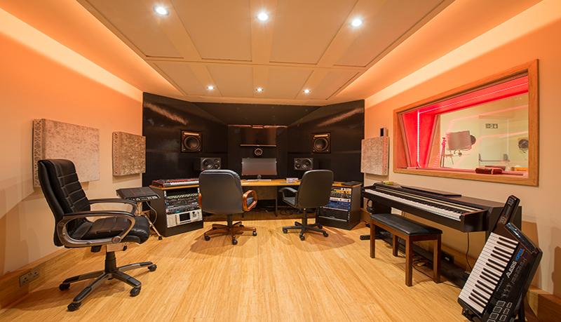 music studio builders