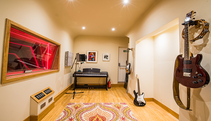 music studio construction
