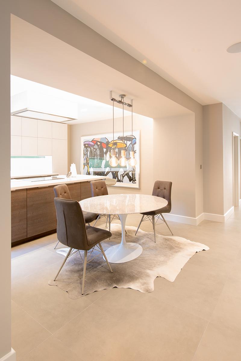 light and spacious interior design