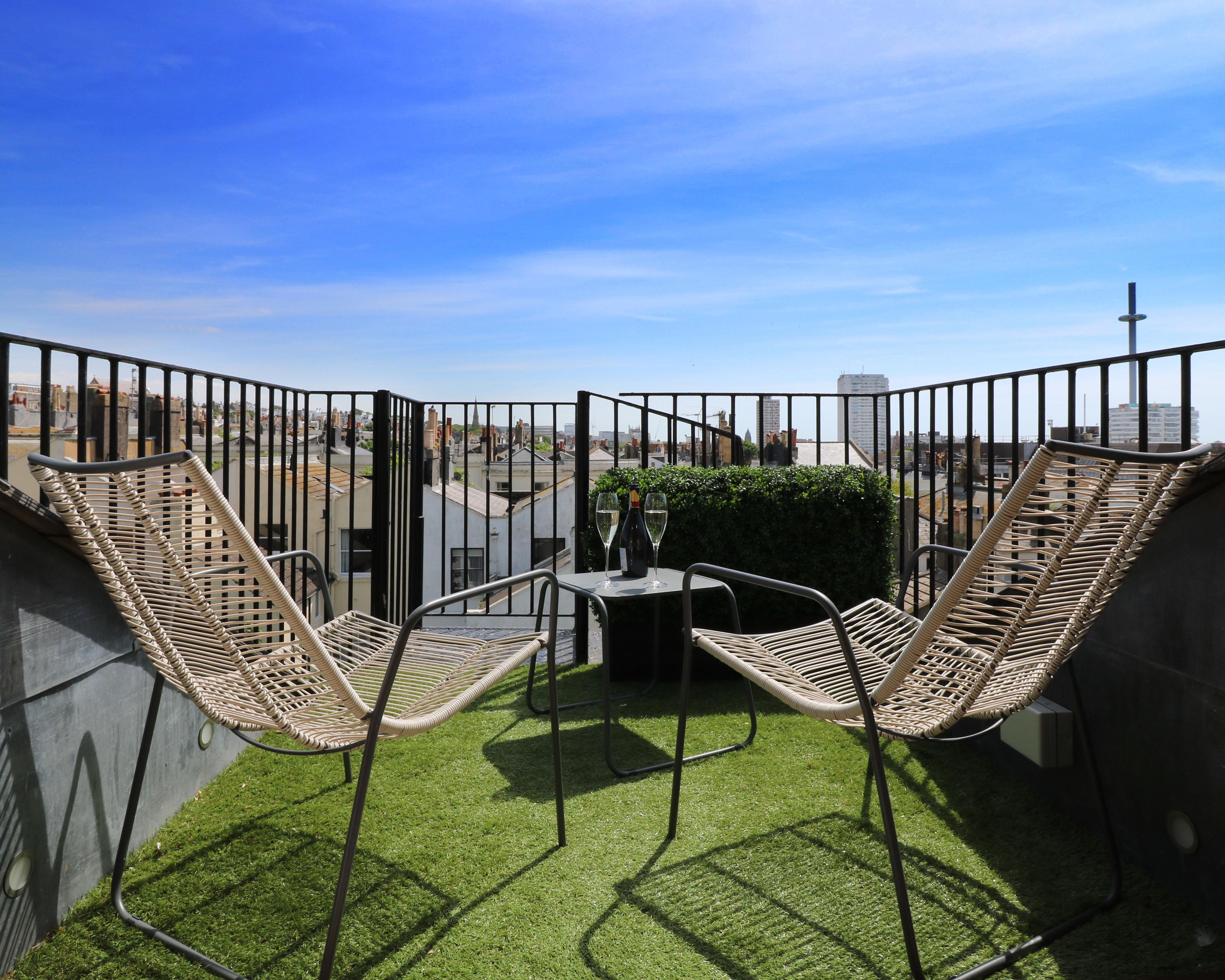 apartment rooftop terrace construction